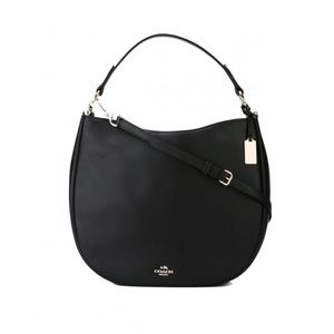 NWT Coach Black Nomad Hobo Bag